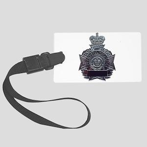 QP badge Large Luggage Tag