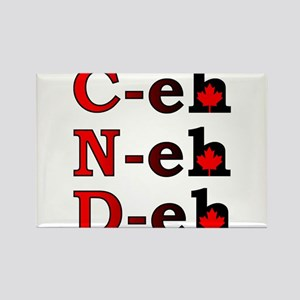 Canada Eh! Funny Canadian T-Shirt Rectangle Magnet