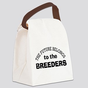 Future Belongs to Breeders Canvas Lunch Bag