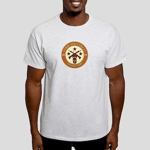 Come and Take It (Orange/Beige Round) Light T-Shir
