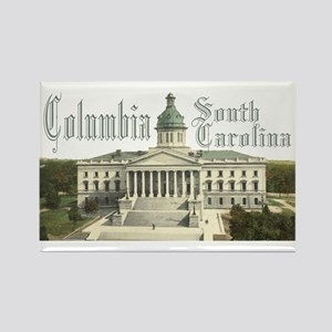 Columbia State House Rectangle Magnet