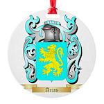 Arias Round Ornament