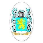 Arias Sticker (Oval 10 pk)