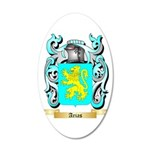 Arias 20x12 Oval Wall Decal