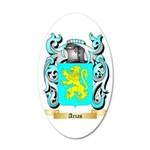 Arias 35x21 Oval Wall Decal