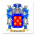 Arguellos Square Car Magnet 3