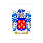 Arguello Sticker (Rectangle 50 pk)