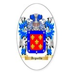 Arguello Sticker (Oval 10 pk)