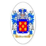 Arguello Sticker (Oval 50 pk)