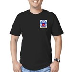 Arguelles Men's Fitted T-Shirt (dark)