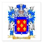 Arguelles Square Car Magnet 3