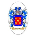 Arguelles Sticker (Oval 50 pk)