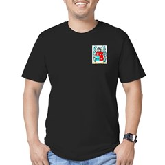 Arevalo Men's Fitted T-Shirt (dark)