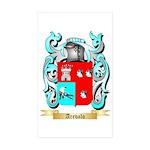 Arevalo Sticker (Rectangle 50 pk)