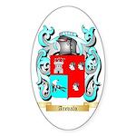 Arevalo Sticker (Oval)