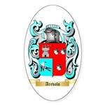 Arevalo Sticker (Oval 50 pk)