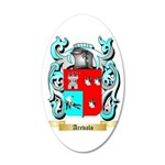 Arevalo 35x21 Oval Wall Decal