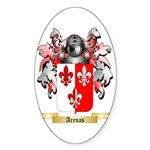 Arenas Sticker (Oval)
