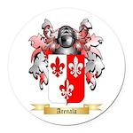 Arenala Round Car Magnet