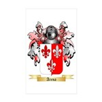 Arena Sticker (Rectangle 50 pk)