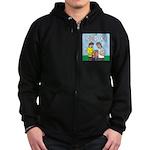KNOTS Berry Farm Zip Hoodie (dark)