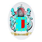 Arellano Ornament (Oval)