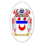 Ardill Sticker (Oval 50 pk)
