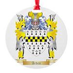 Arden Round Ornament