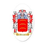 Arcucci Oval Car Magnet