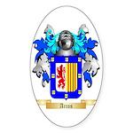 Arcos Sticker (Oval)