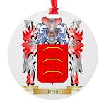 Arconi Round Ornament