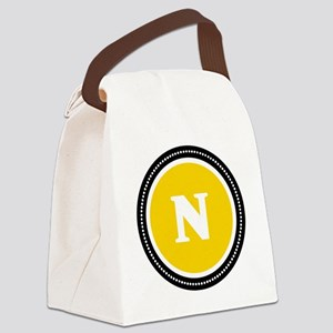 Yellow Canvas Lunch Bag