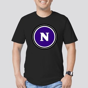 Purple Men's Fitted T-Shirt (dark)