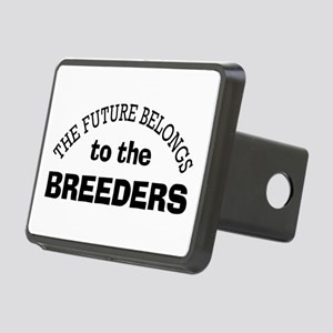 Future Belongs to Breeders Rectangular Hitch Cover