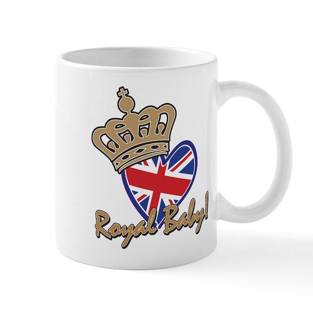 Royal Baby Union Jack Mug By JunipersWedding
