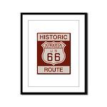 Siberia Route 66 Framed Panel Print