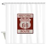 Siberia Route 66 Shower Curtain