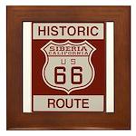 Siberia Route 66 Framed Tile