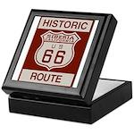 Siberia Route 66 Keepsake Box