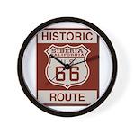 Siberia Route 66 Wall Clock