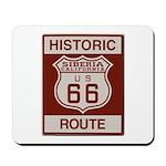 Siberia Route 66 Mousepad