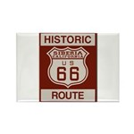 Siberia Route 66 Rectangle Magnet (100 pack)