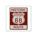 Siberia Route 66 Square Sticker 3