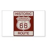 Siberia Route 66 Sticker (Rectangle 10 pk)