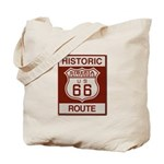 Siberia Route 66 Tote Bag