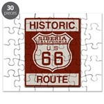 Siberia Route 66 Puzzle