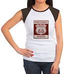 Siberia Route 66 Women's Cap Sleeve T-Shirt