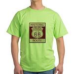 Siberia Route 66 Green T-Shirt
