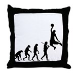 Slam Dunk Evolution 1 Throw Pillow