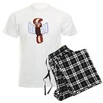 Bacon Cupid Men's Light Pajamas